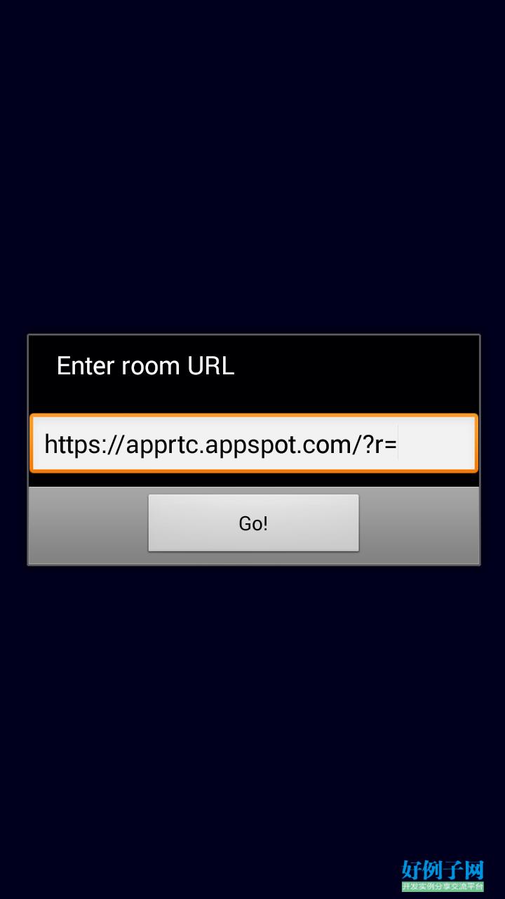 android 视频通话例子(webrtc) - 开发实例、源码下载- 好例子网